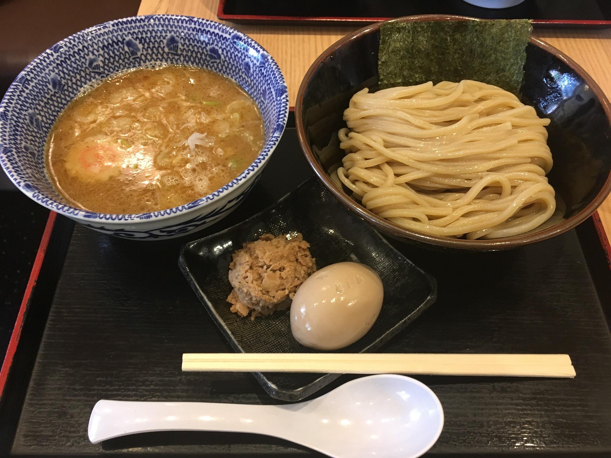舎鈴北品川店の特製つけ麺